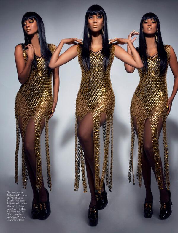 Spotted Tyra Banks