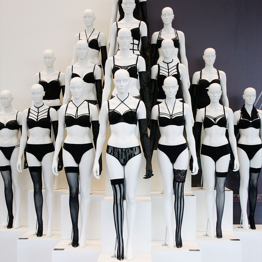 Why I used to design only black, white and red lingerie