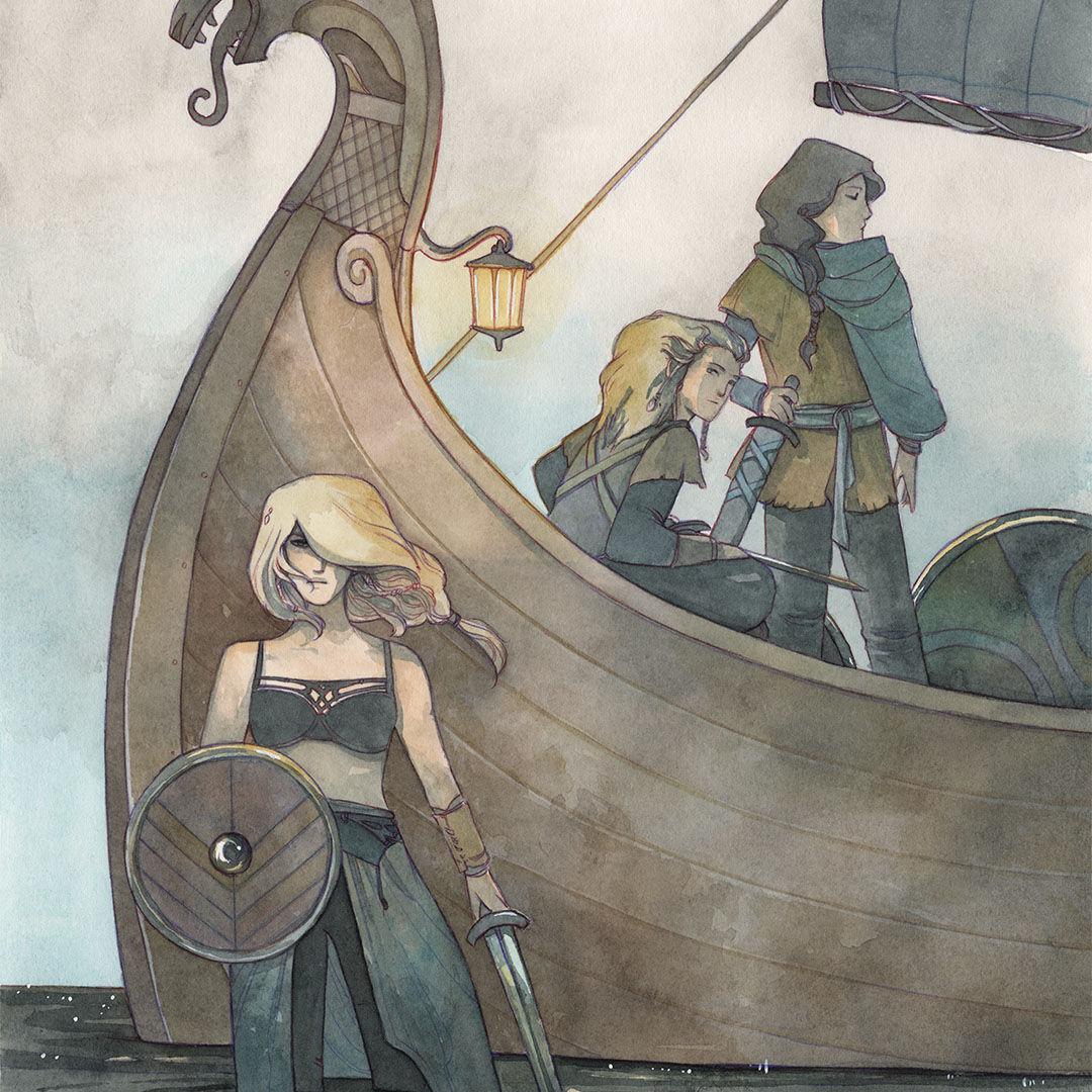 Princess Alfhild– 'The Pirate Princess'