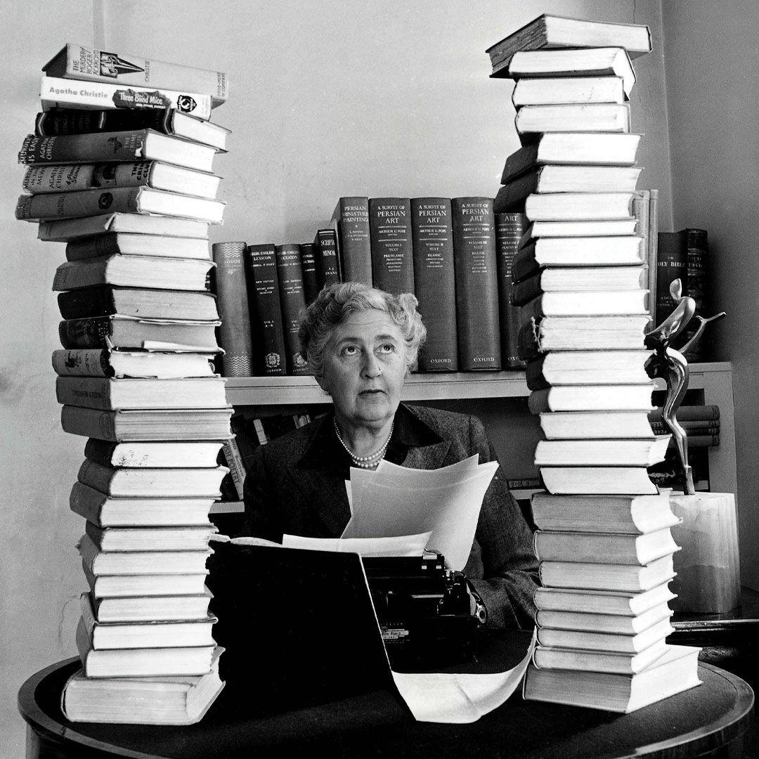 Mystery girl Agatha Christie