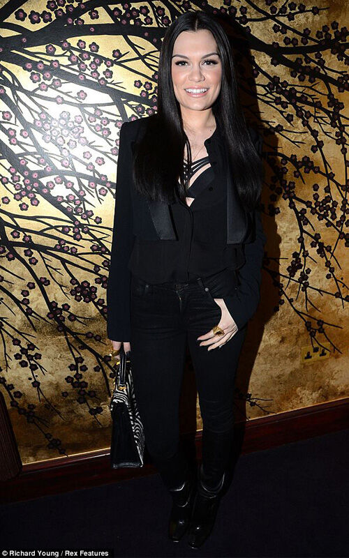 Rückblick: Jessie J's Freitagabend Look