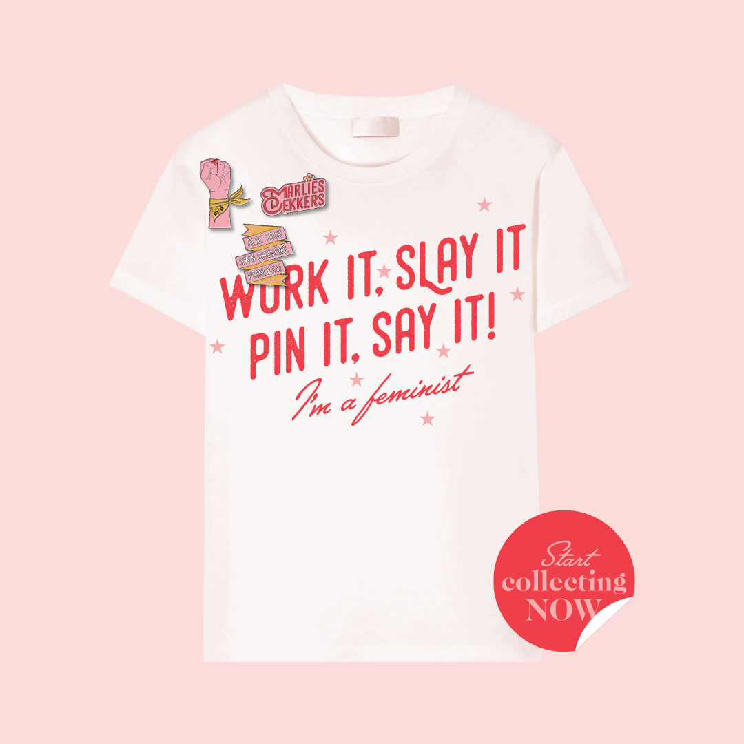 Work it, slay it, pin it and say it!