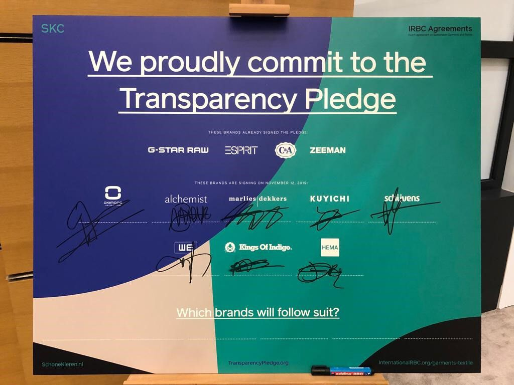 The next step in transparency!