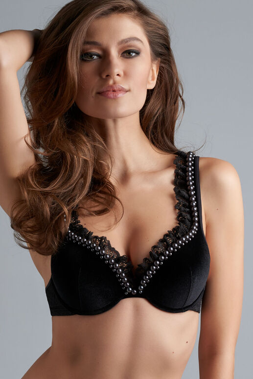 queen of pearls push-up soutien-gorge