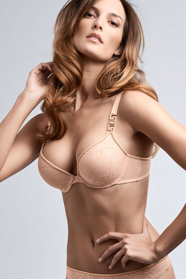 meander push up bra