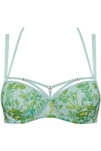 jardin des herbs soutien-gorge balconnet | wired padded soft green - 100E