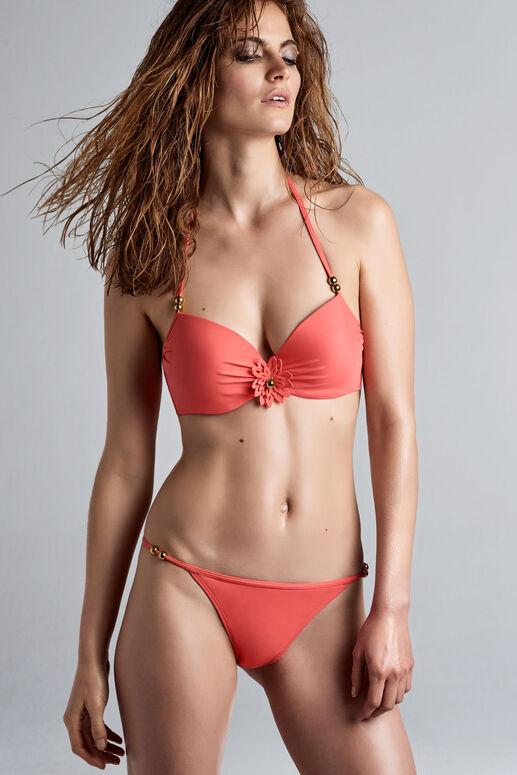 la flor haut de bikini push-up
