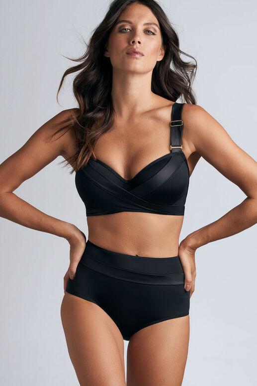 cache coeur highwaist bikini briefs