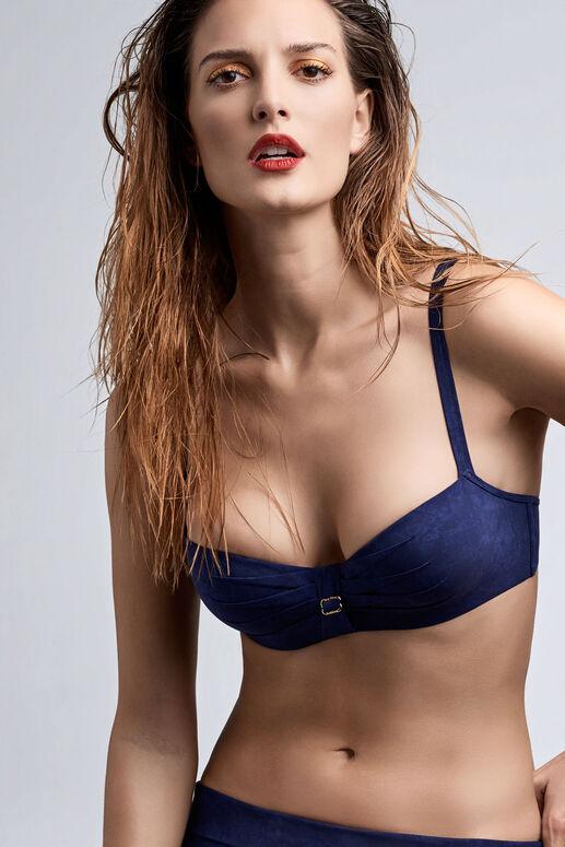 puritsu haut de bikini balconnet plongeant