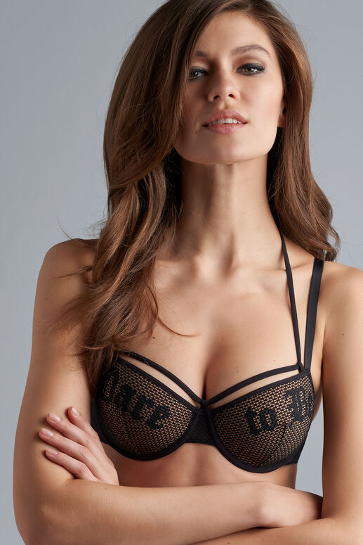 dare to be plunge balcony bra