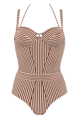 holi vintage maillot de bain balconnet plongeant