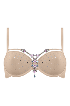 dancing princess plunge balcony bra