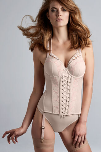 viva la vida plunge balcony corset