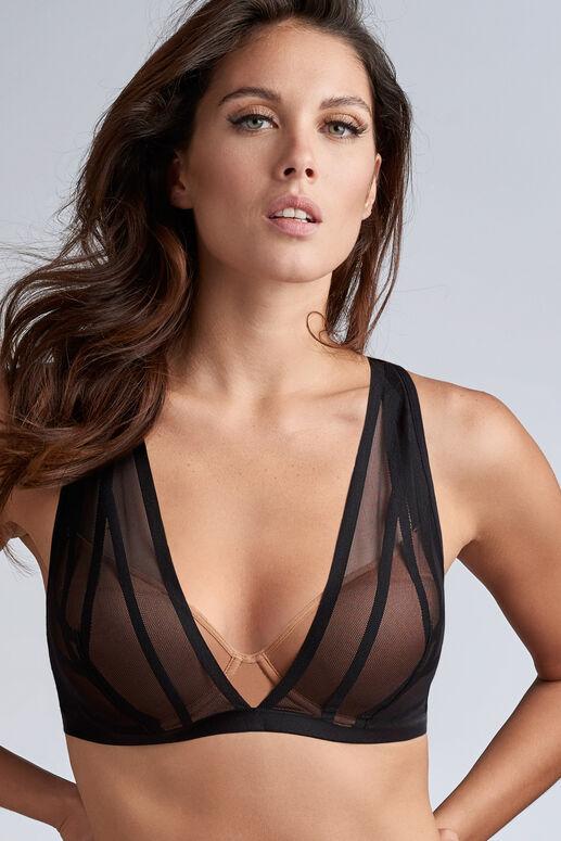 the illusionist plunge bra