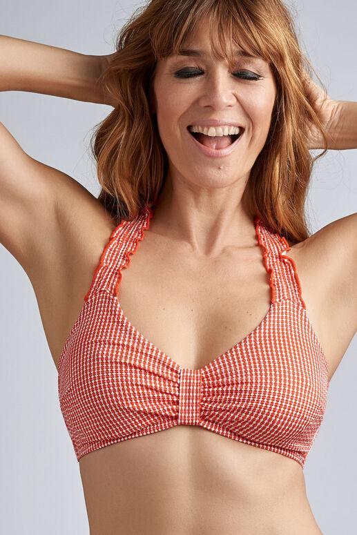 côte d'azur nicht-vorgeformter Bügel plunge balconette Bikini Oberteil