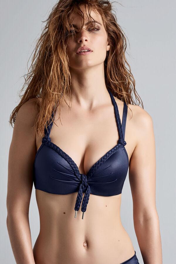 holi glamour push up bikini top