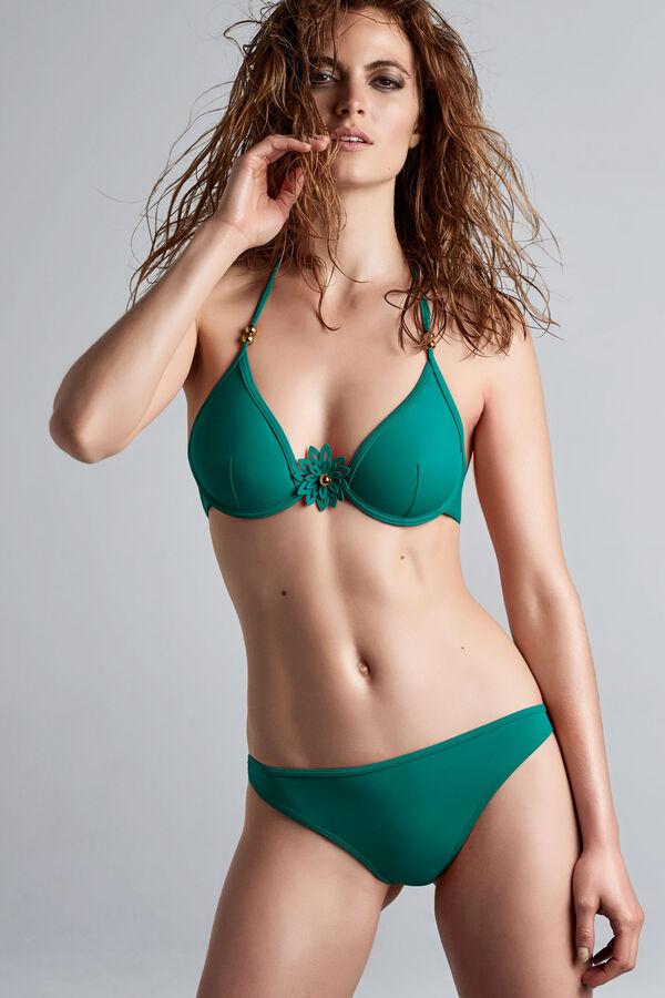 la flor plunge balconette bikini top