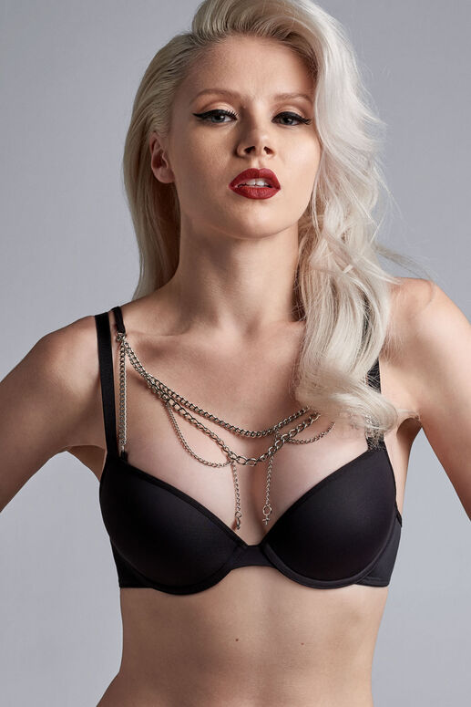 charms push up bra