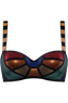 the rainbow scarab balcony bra