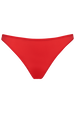 Dame de paris plunge bra + 2cm thong red