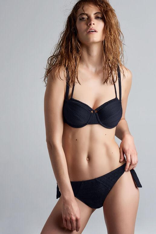 holi vintage plunge balconette bikini top