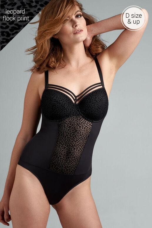 feline jazz plunge balconette body
