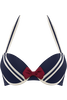 sailor mary push up bikini top