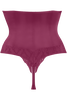 latin lady high waist thong
