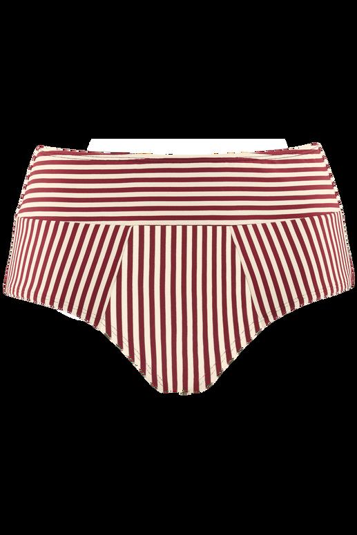 haut de bikini balconnet plongeant + highwaist bikini briefs