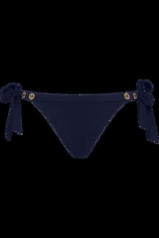 royal navy tie and bow slip  dark blue  XL