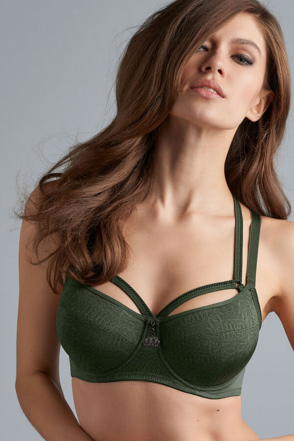 crown jewel unpadded balcony bra