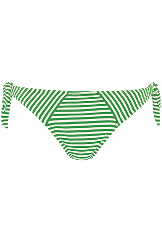 holi vintage tie and bow slip | green-ivory - XS