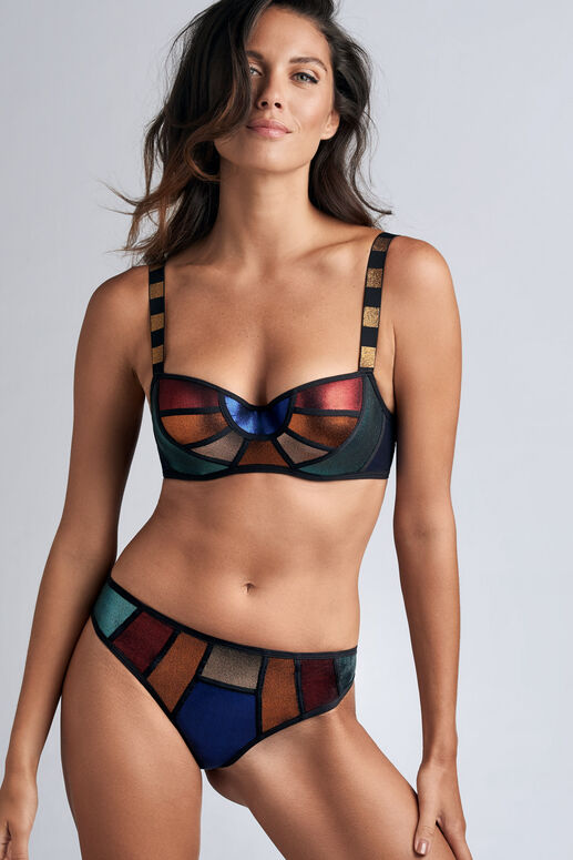 the rainbow scarab butterfly slip