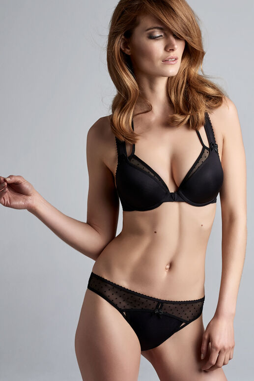 peekaboo push up bra