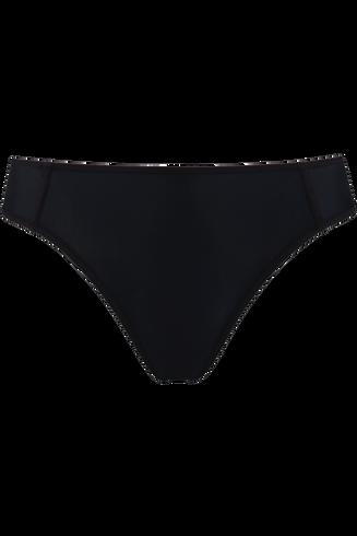 meringue 5 cm briefs |  black - m