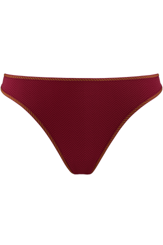 Space Odyssey 4 Cm Thong |  Rhubarb And Gold - Xs