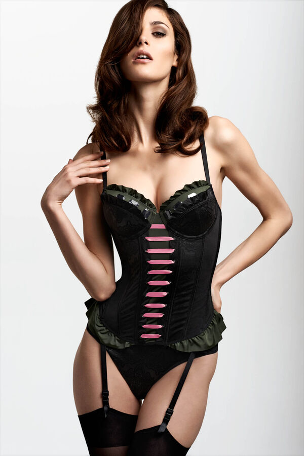 rebellious princess plunge balcony corset