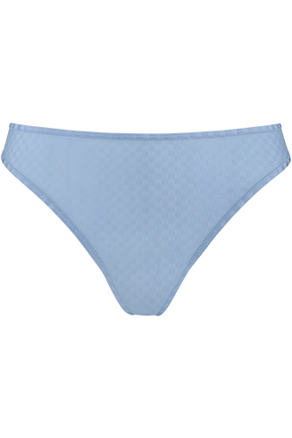 space odyssey 4 cm thong |  checkered light blue - xs