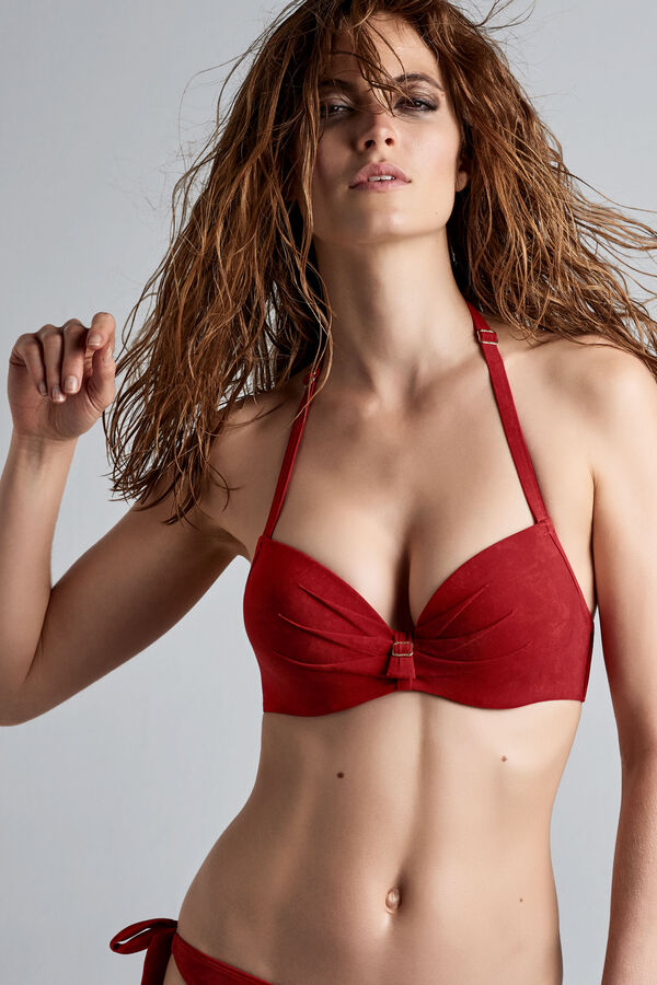 puritsu haut de bikini push-up
