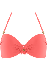 la flor haut de bikini push-up