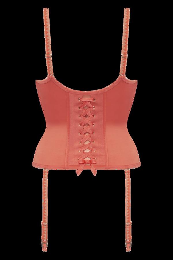 Tinguely plunge balcony corset