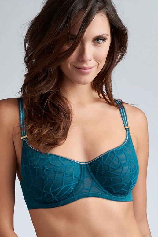 the adventuress unpadded balcony bra