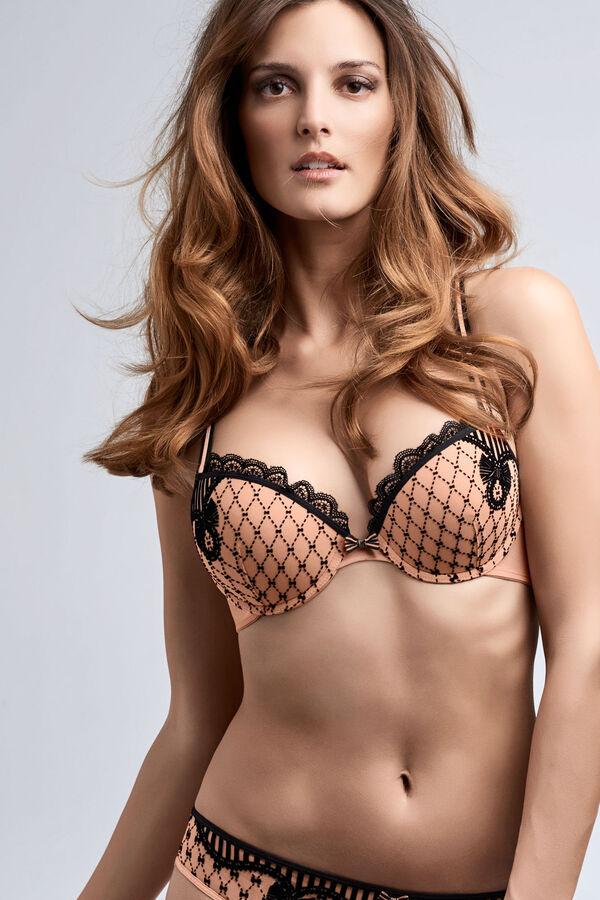 florence push up bra set