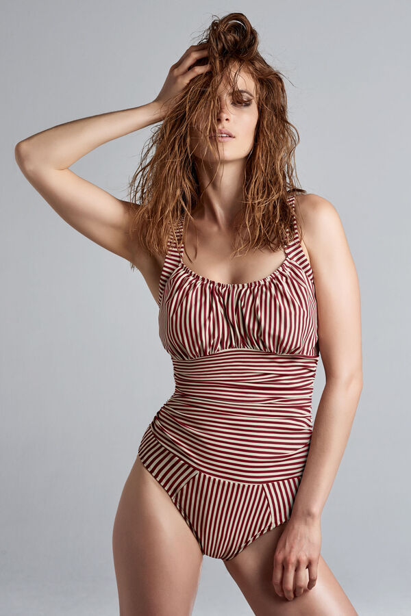 unwired padded bathing suit