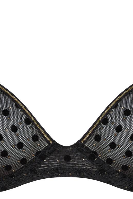 petit point plongeant soutien-gorge non rembourré