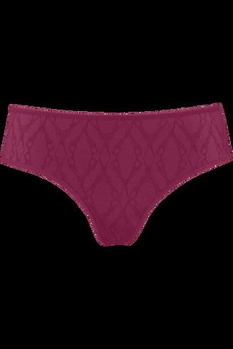latin lady 8 cm brazilian briefs |  grape purple - l