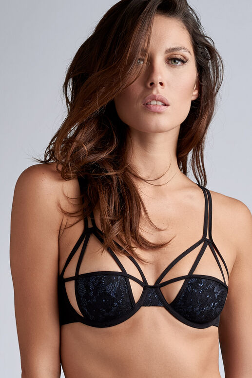 art of love unpadded plunge balcony bra