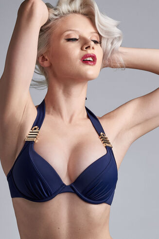 royal navy push up bikini top