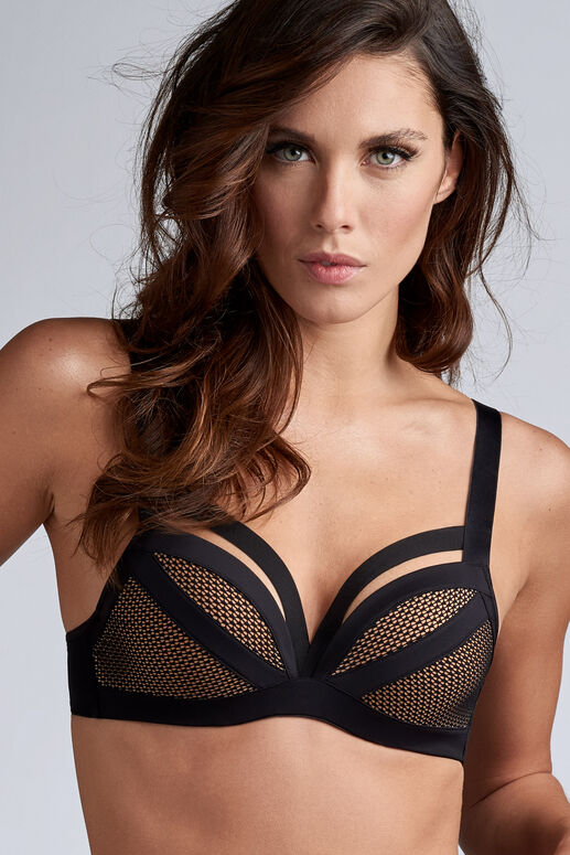wing power push up bra