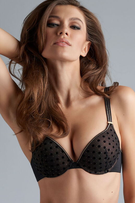 petit point push-up soutien-gorge